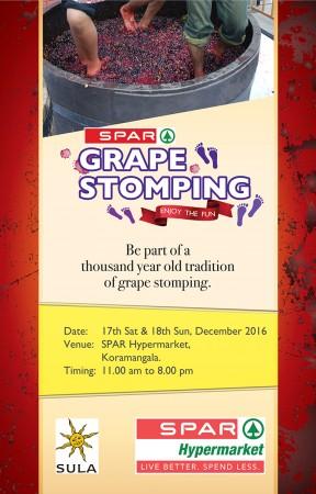 SPAR Grape Stomping 2016_Koramangala