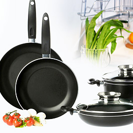 Kitchen – cookware, serveware, table linen, plastics, small white goods